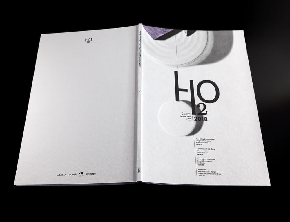 Kundenmagazin von Laufen Keramik
